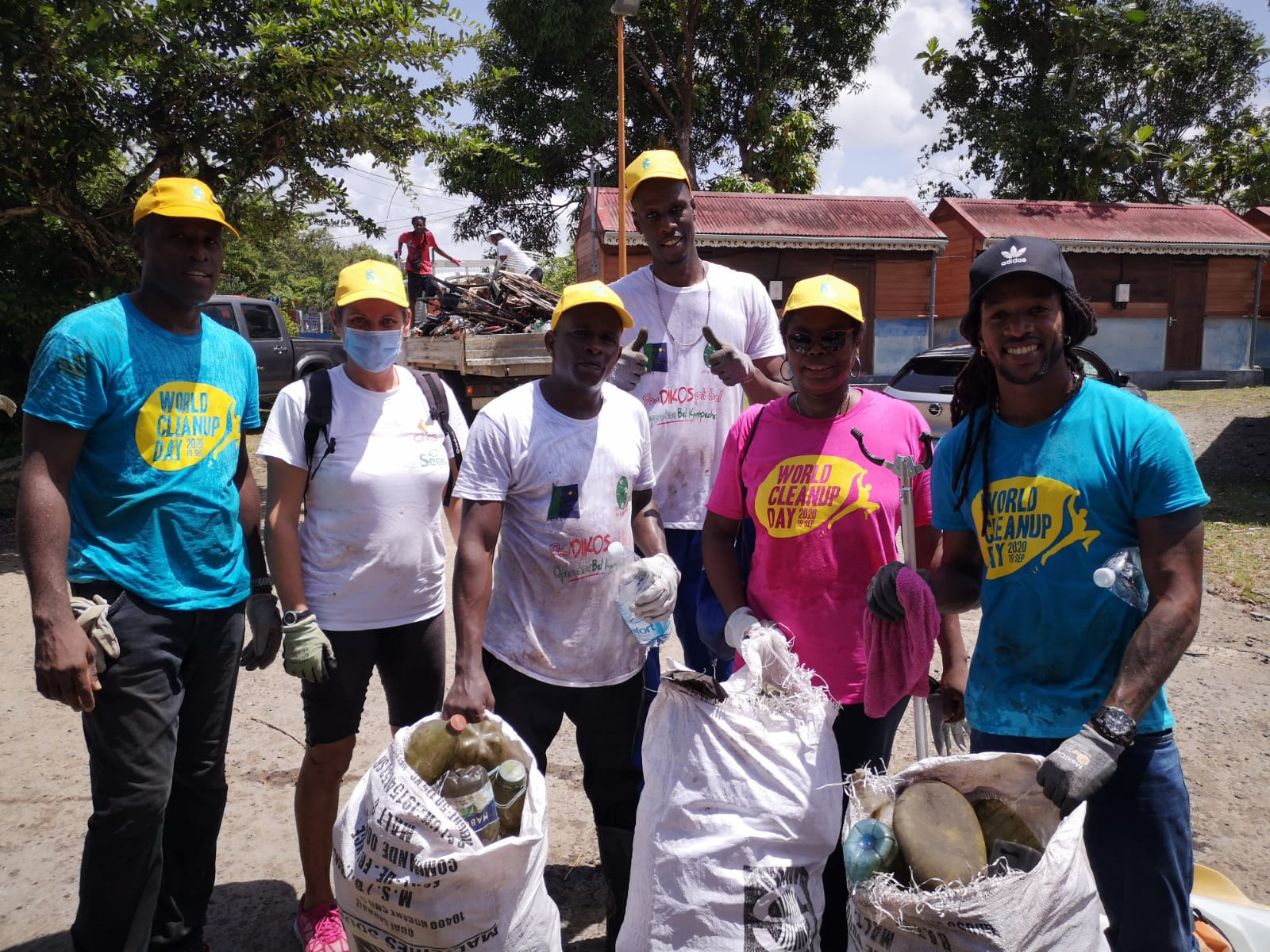 World Clean Up Day : 25 tonnes de déchets collectées en Martinique