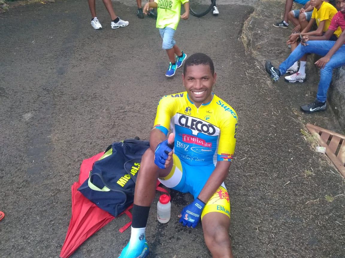 Mickaël Stanislas est une nouvelle fois champion de Martinique de contre-la-montre