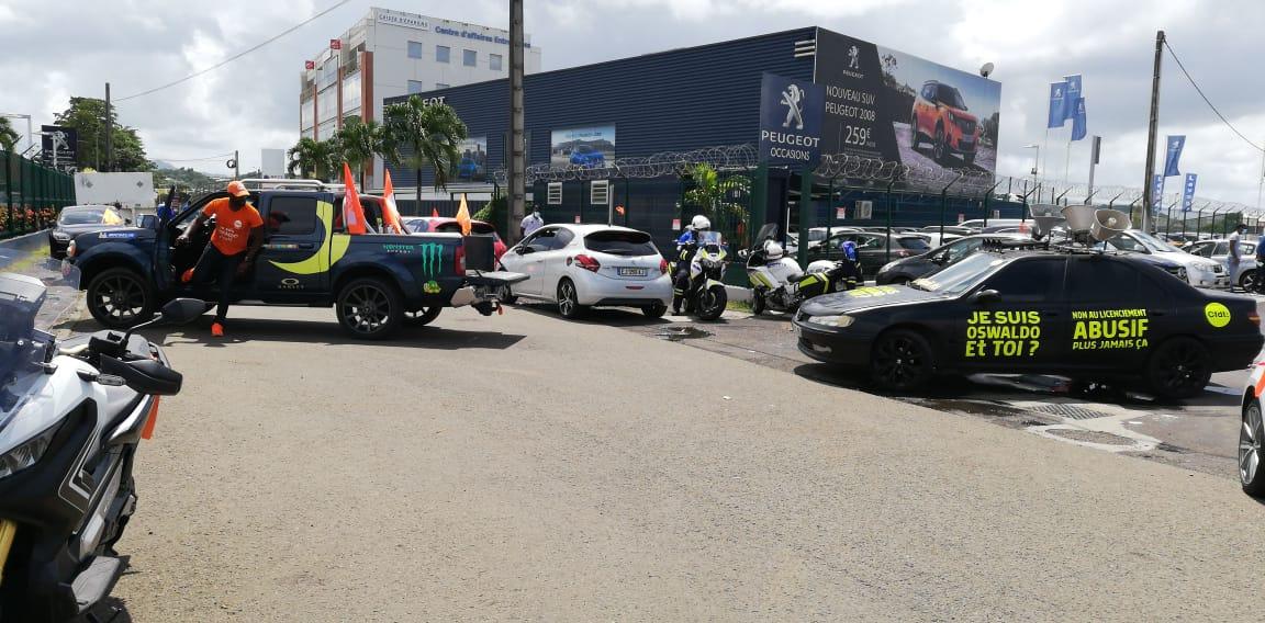 Conflit à Blue automobile: statu quo, avant un nouveau rassemblement