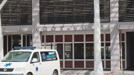 Hôpital de Mangot-Vulcin : mobilisation du personnel du bloc opératoire