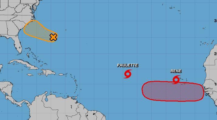 Les tempêtes Paulette et Réné agitent l'Atlantique, une future onde également sous surveillance