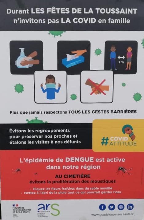 Attention : Covid-19 et dengue durant la Toussaint