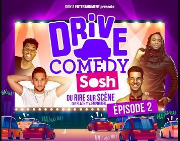Une deuxième édition du Drive Comedy