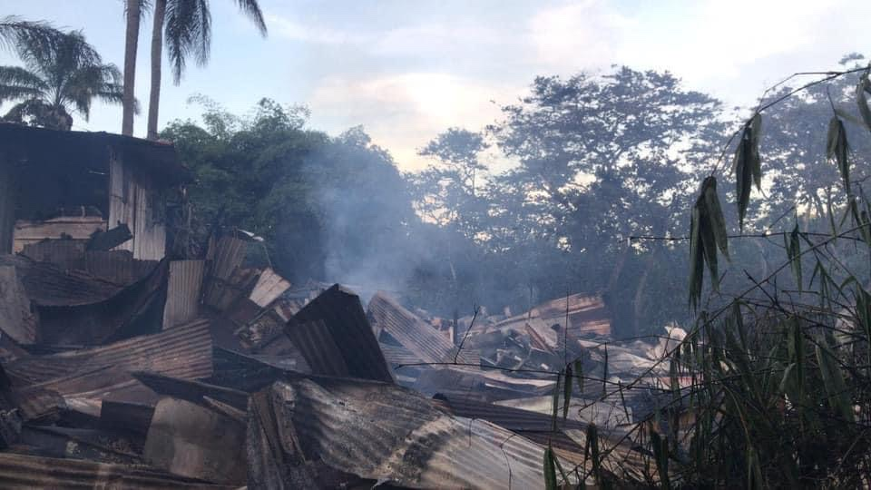 Guyane : le squat Bambou ravagé par les flammes