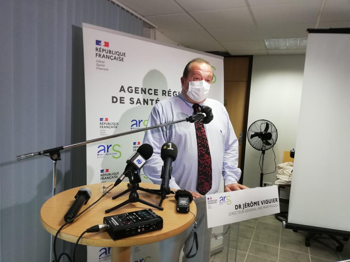 Covid-19 : suivez la conférence de presse de l'ARS en direct à 16 heures sur RCI