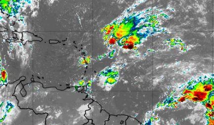 Une onde tropicale approche la Martinique : temps instable et humide pour la journée