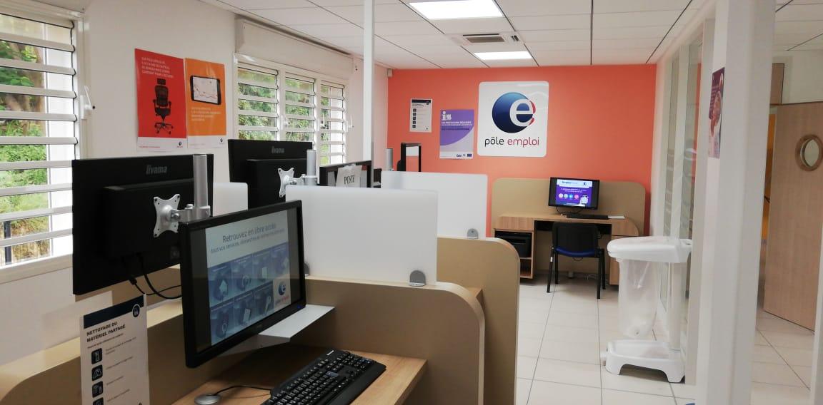 Pôle Emploi inaugure une nouvelle agence au Gosier