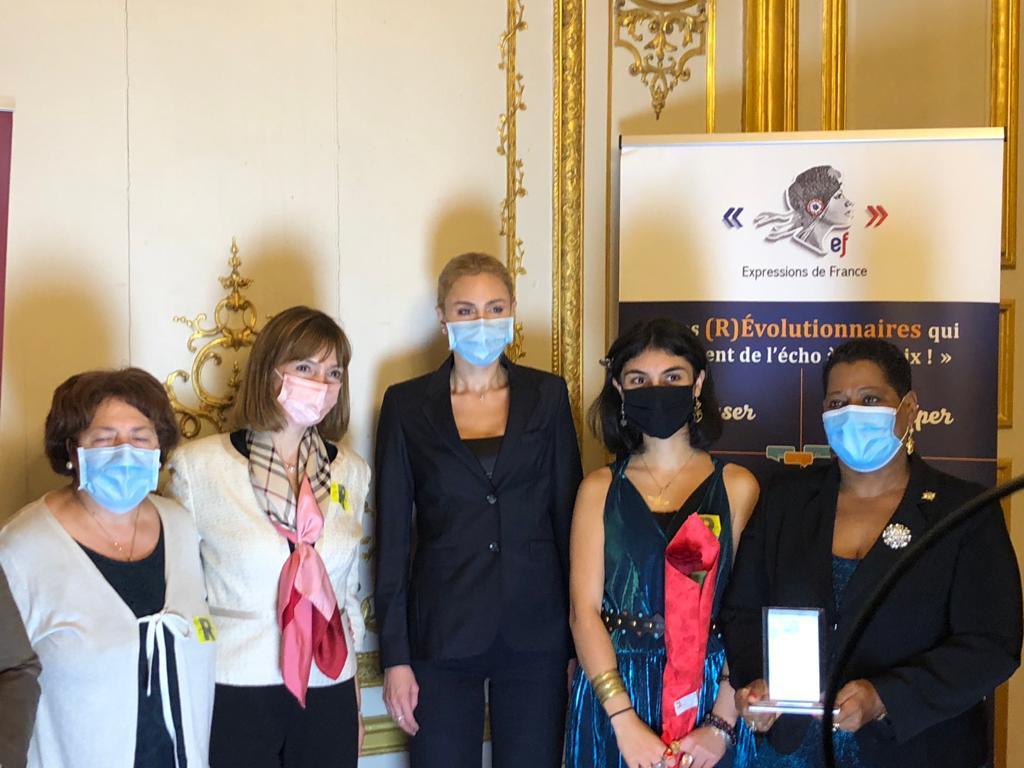 La sénatrice Victoire Jasmin lauréate aux Vénus de la Réussite
