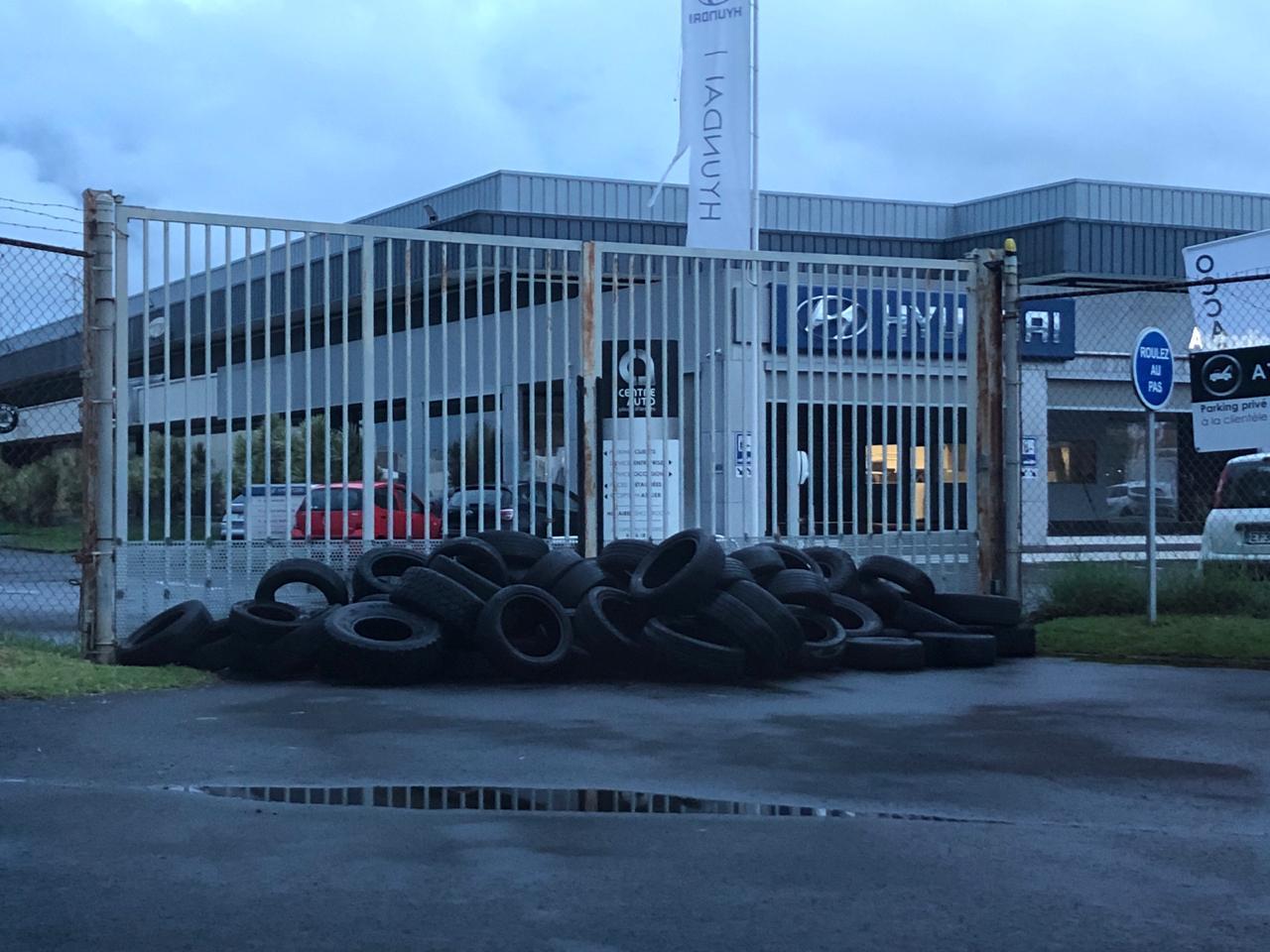 Nouvelle action de la CFDT dans le conflit Peugeot Martinique