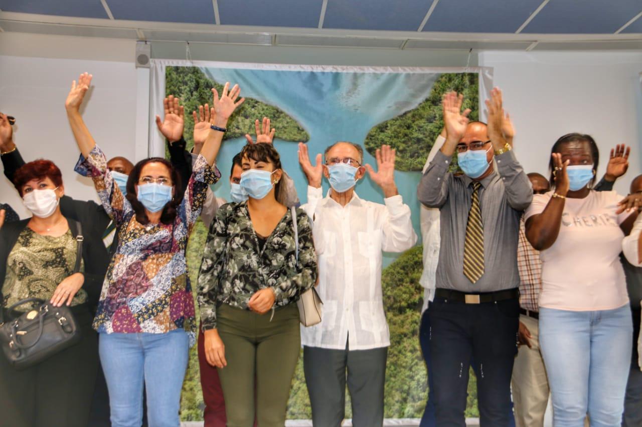 Fin de mission pour les médecins cubains