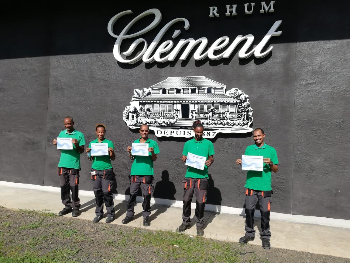 Des salariés de Clément récompensés