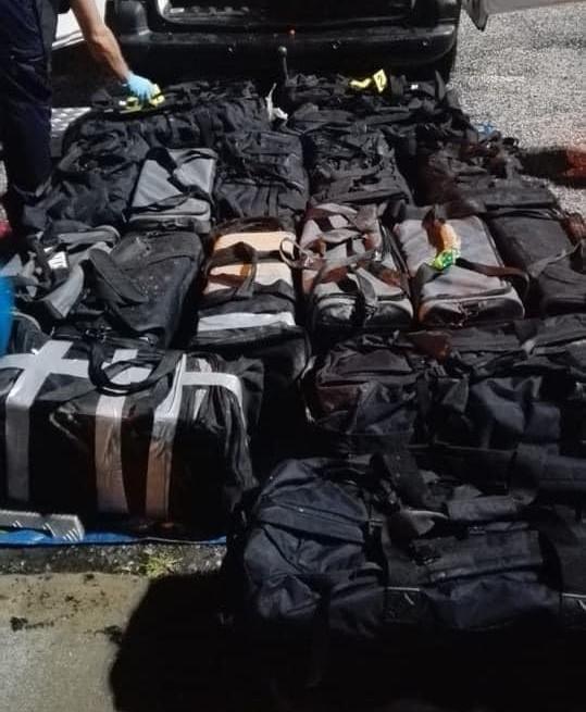 540 kilos de cocaïne saisis en Guyane