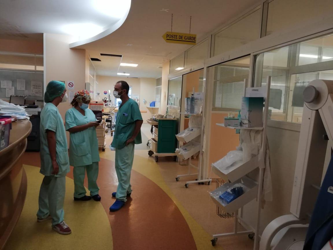 Immersion au service de réanimation du CHU de Guadeloupe