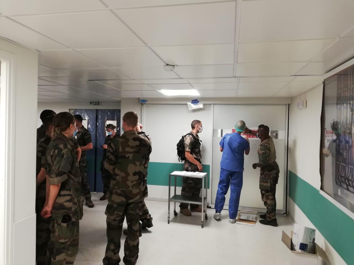 Coronavirus : les renforts militaires sur le départ