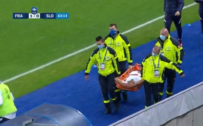 Le Guadeloupéen Yvann Maçon sérieusement blessé au genou avec les Espoirs