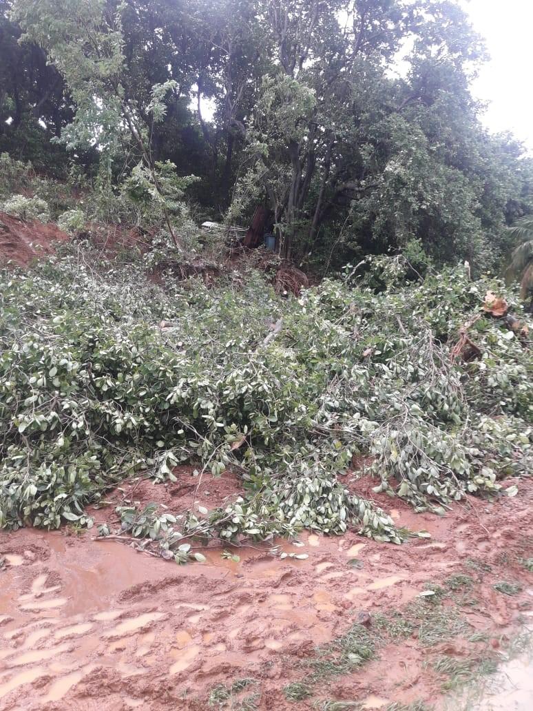 Vigilance orange : de nouveaux dégâts à déplorer cette nuit en Martinique
