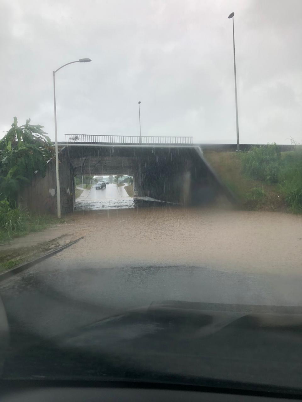 Une inondation signalée à Dothémare aux Abymes
