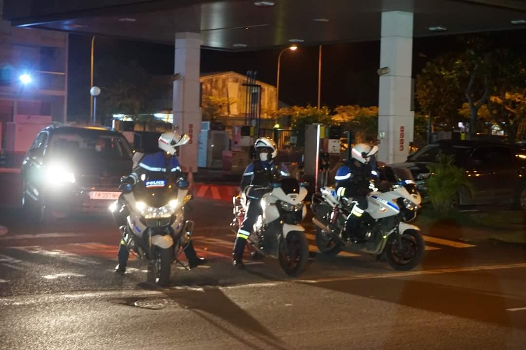 Vaste opération de contrôle de police aux Abymes