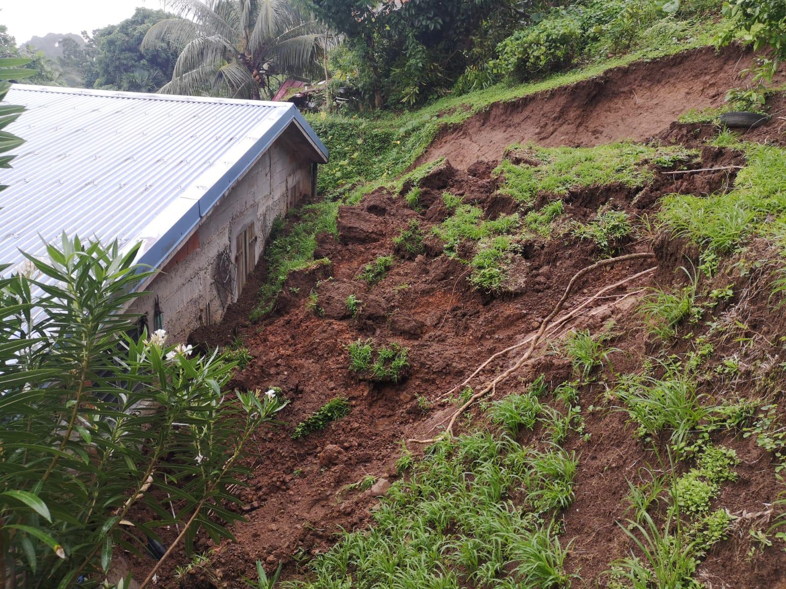 Météo France compare les pluies de novembre 2020 en Martinique à des précipitations cycloniques