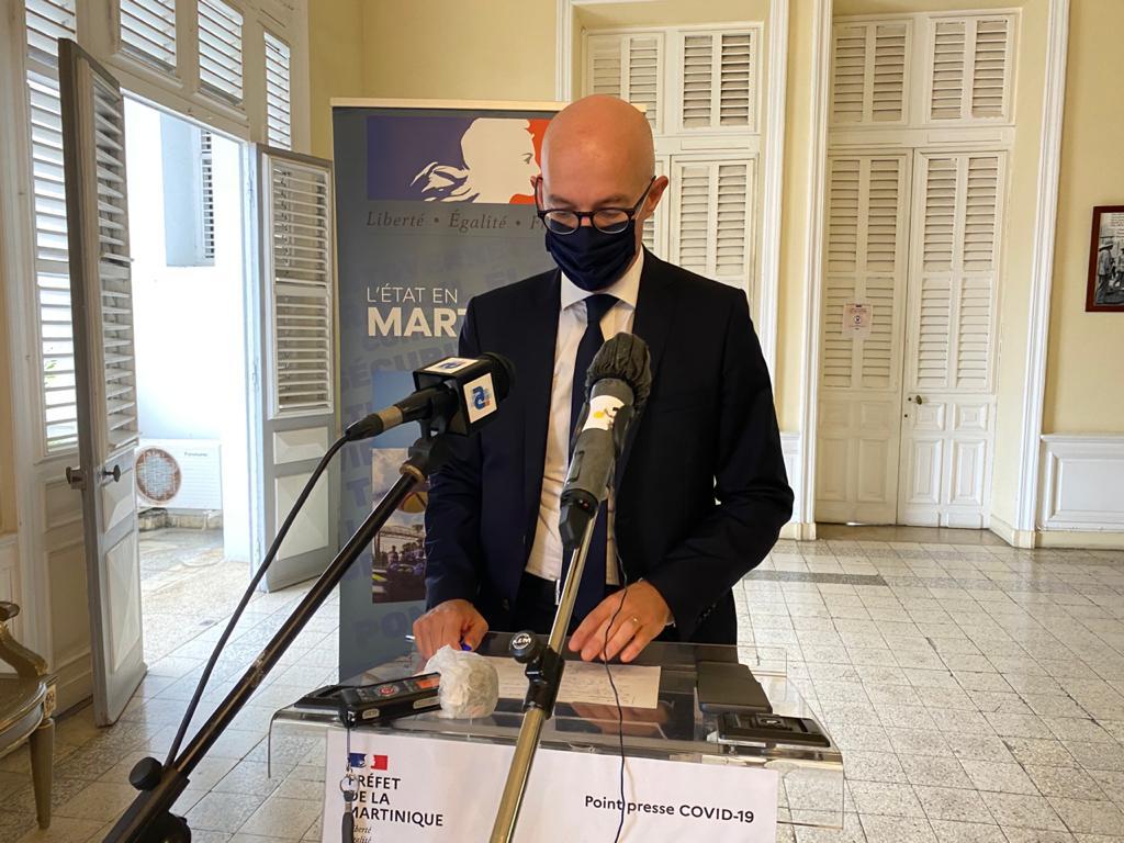 Allocution du préfet de Martinique sur la situation sanitaire : quelles annonces à prévoir ?