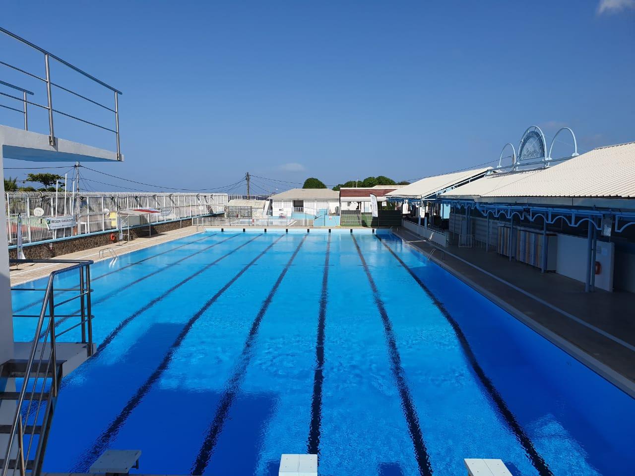 Réouverture de la piscine de Rivière des Pères