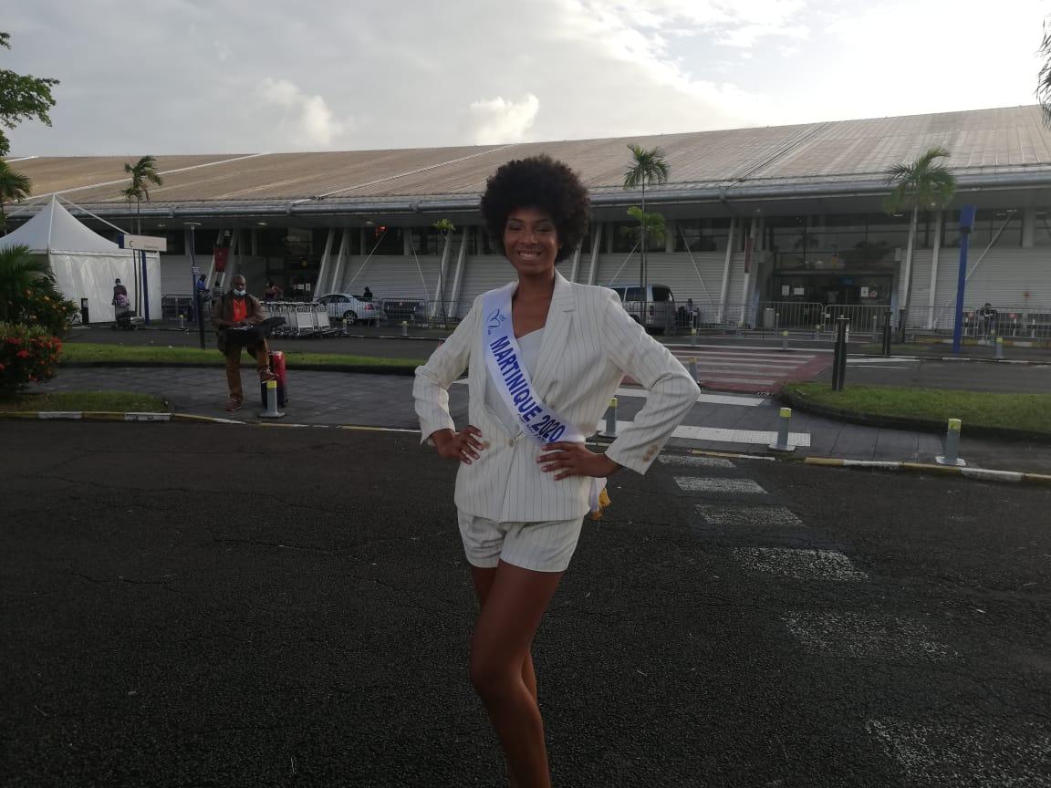Miss Martinique en route pour Paris et le concours Miss France