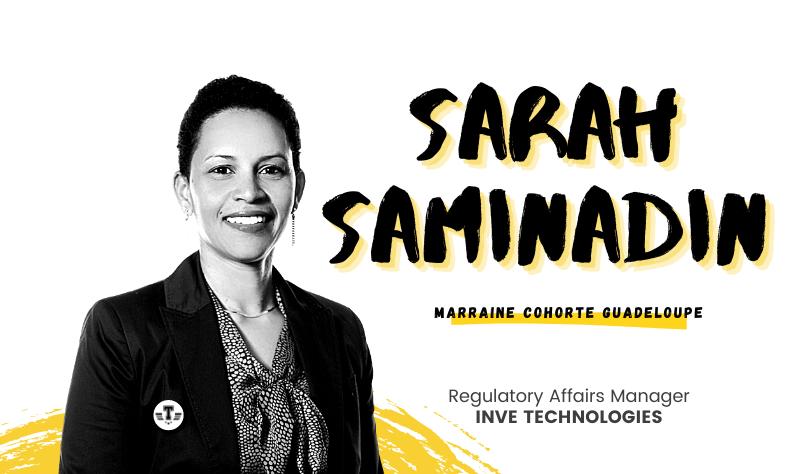 Parcours d'exception : Sarah Saminadin, de la recherche à l'entreprise