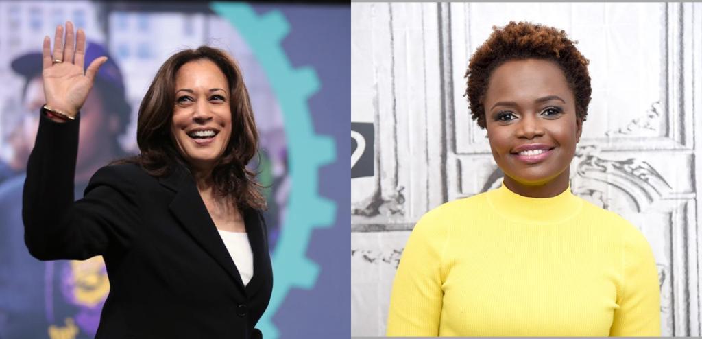Kamala Harris et Karine Jean-Pierre, deux femmes noires et caribéennes dans le premier cercle de Joe Biden