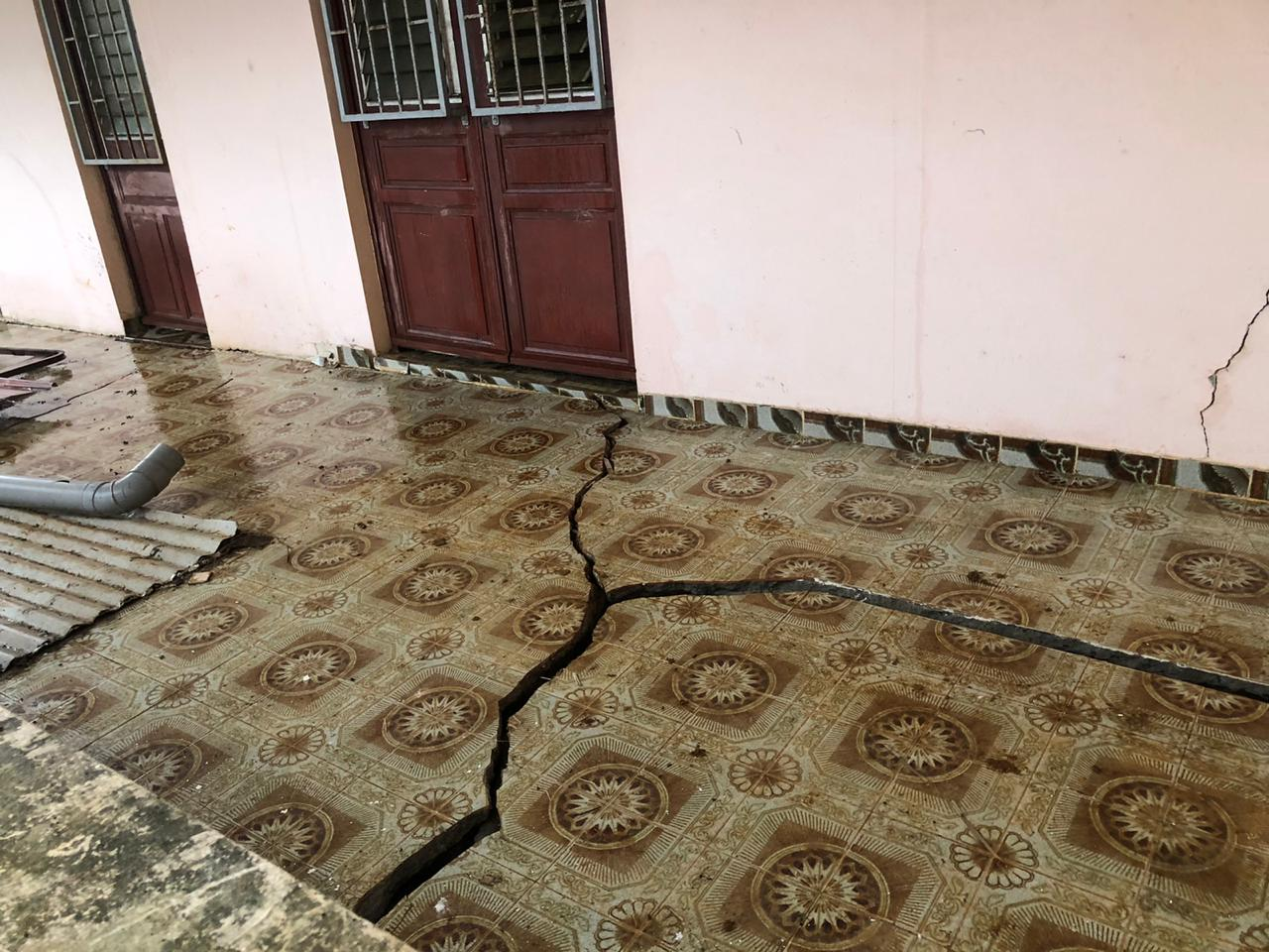 Intempéries : images spectaculaires des dégâts dans le Nord de l'île