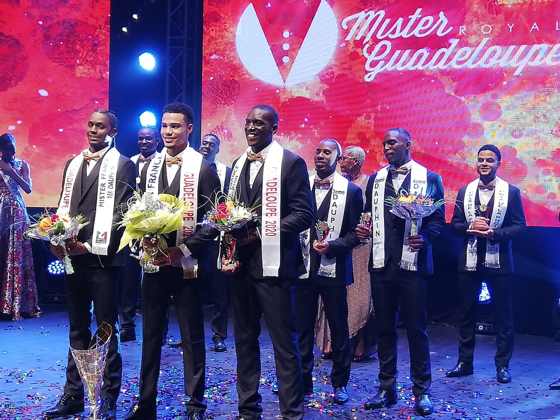 Michaël Torchy est Mister Guadeloupe 2020