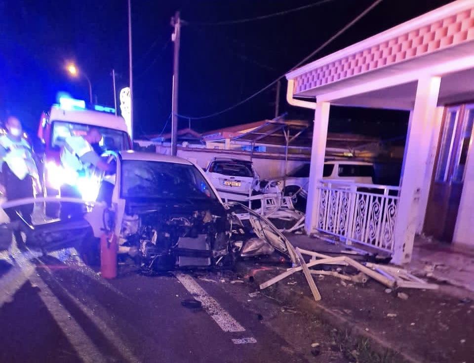 La conductrice de 37 ans impliquée dans l'accident mortel du Morne-Rouge a été mise en examen