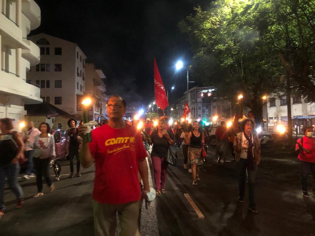 Manifestation à Fort-de-France contre les violences policières