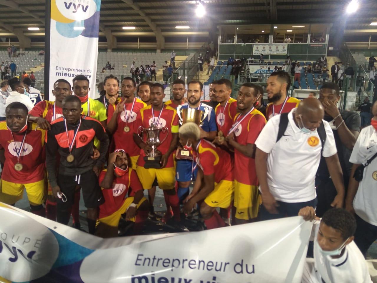 L'Aiglon du Lamentin remporte la coupe VyV