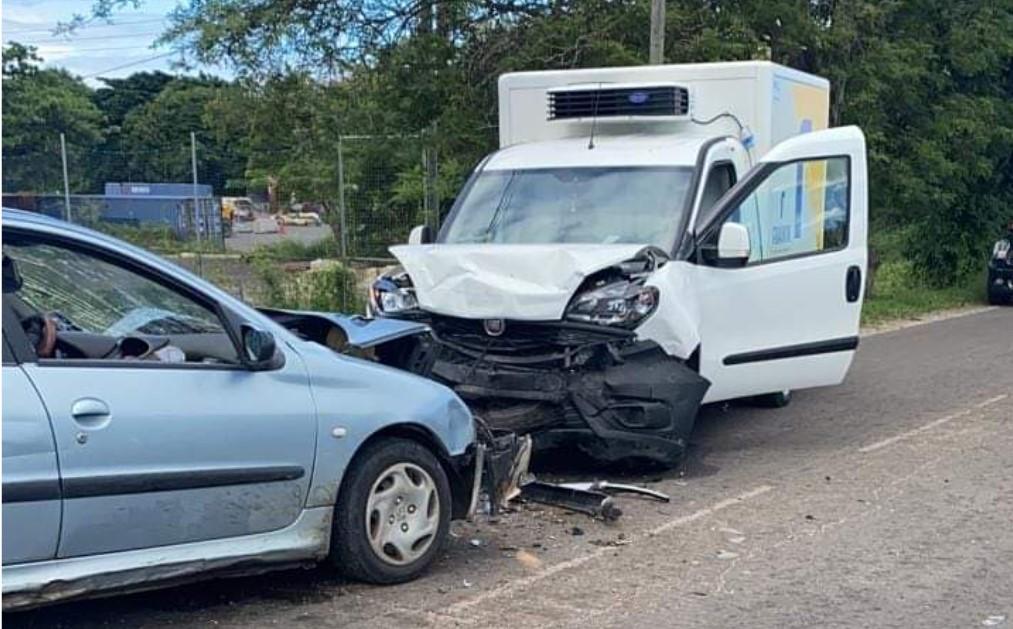 Un accident au Moule fait deux blessés graves