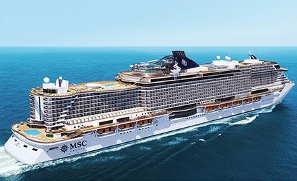 MSC Croisières positionne un nouveau bateau aux Antilles