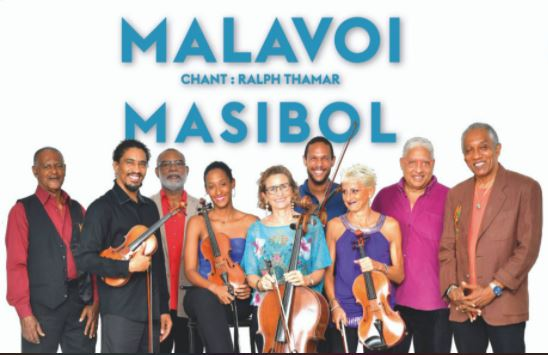 Le groupe Malavoi en concert au Millenuim du Morne-Rouge
