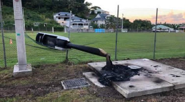 À peine installé, le radar tourelle de Deshaies déjà vandalisé