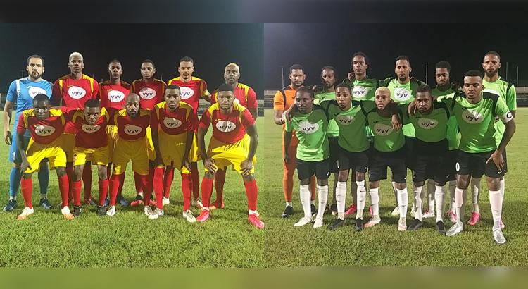 Football : l'Aiglon bat le Club Franciscain en finale locale de la Coupe Vyv