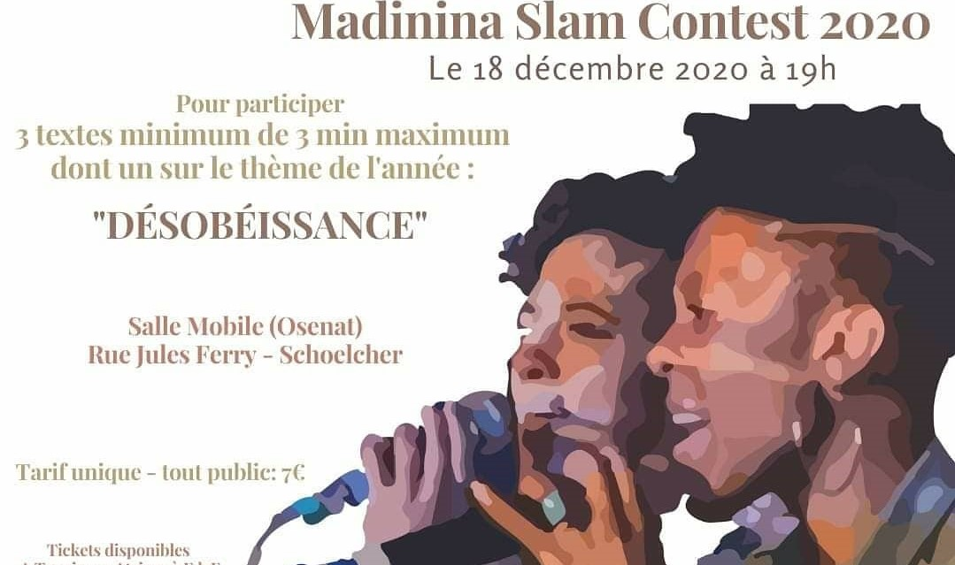 12ème édition du Slam Contest de Martinique