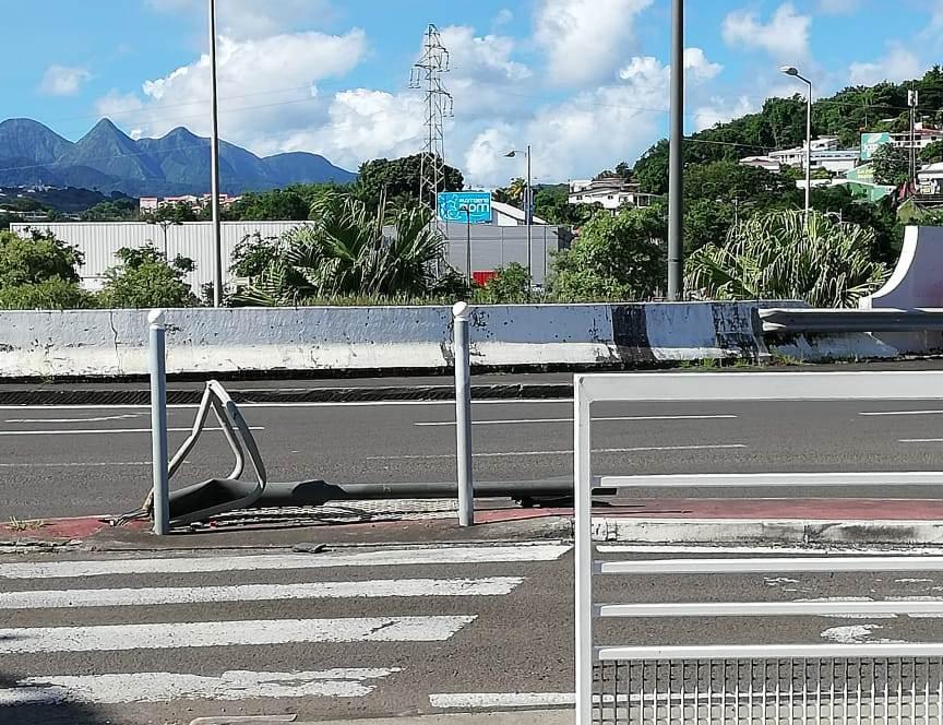 Les feux tricolores du TCSP sont les cibles d'actes de vandalisme répétés