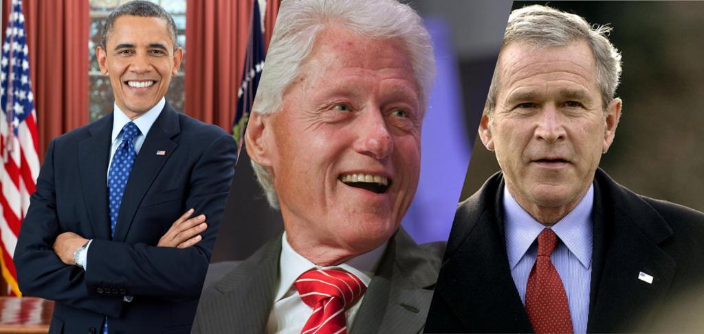 Obama, Bush et Clinton prêts à se faire vacciner publiquement pour encourager la population à le faire