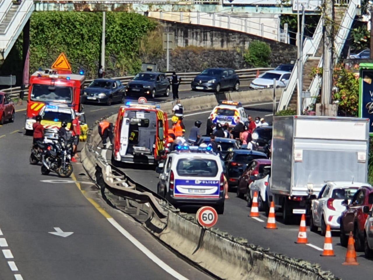 Un motard gravement blessé dans un accident sur la Rocade