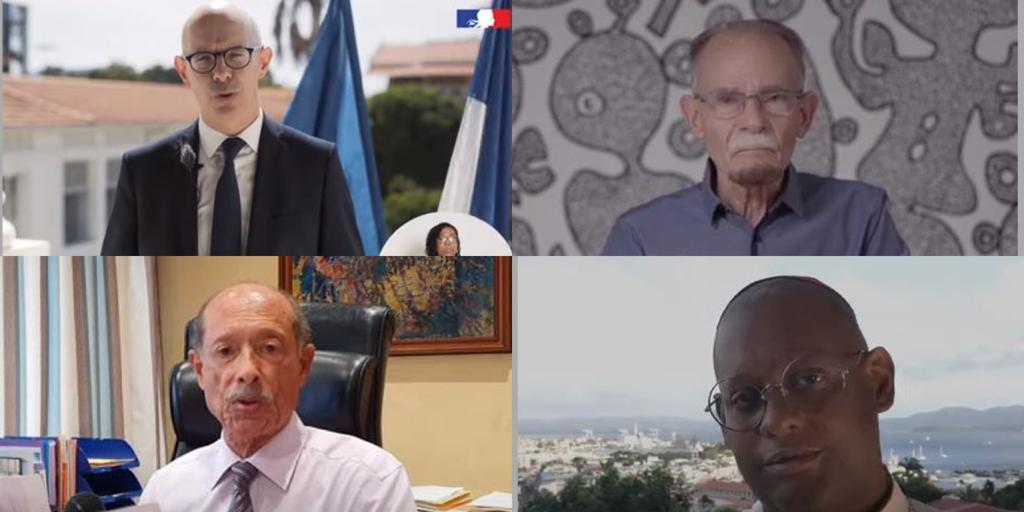 Les officiels adressent leurs vœux pour 2021 à la population martiniquaise