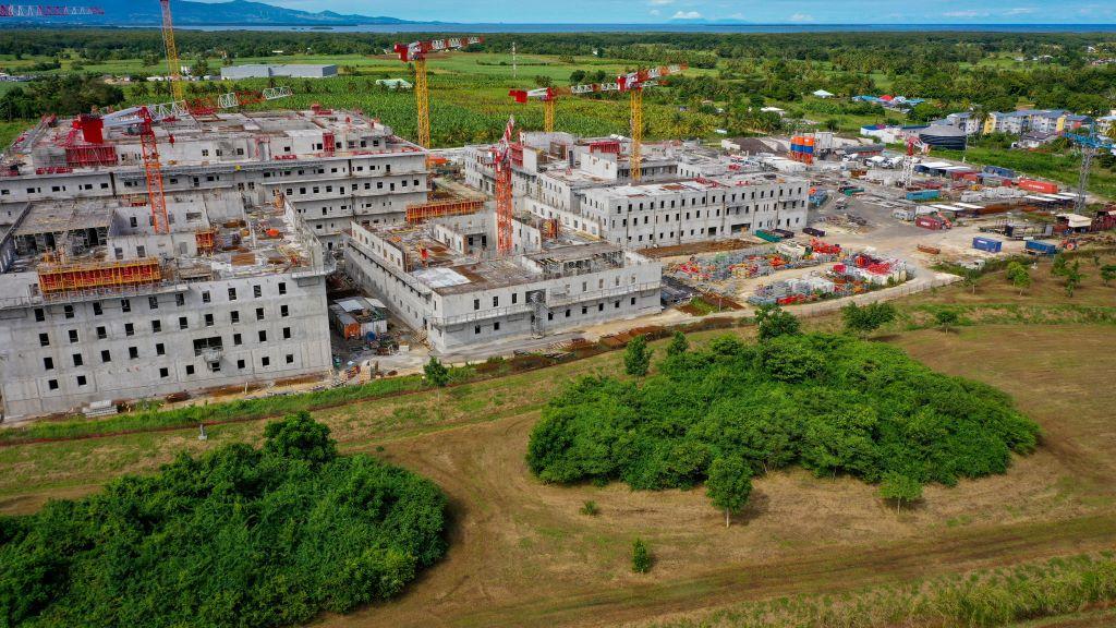 Le nouveau CHU de Guadeloupe dévoile ses qualités environnementales