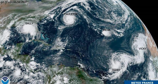 Saison cyclonique 2020 : la plus précoce et la plus active de l'histoire avec 31 phénomènes