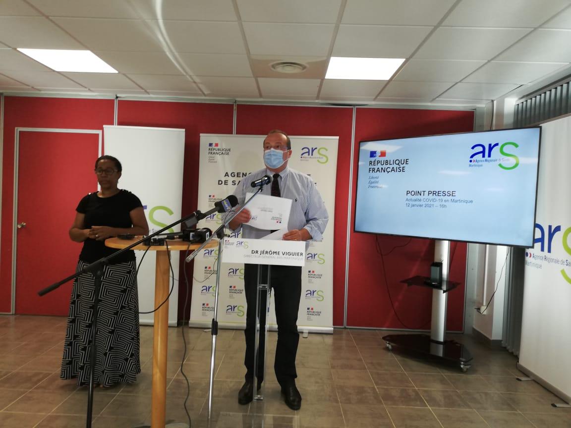 Covid-19 : l'épidémie est stable en Martinique