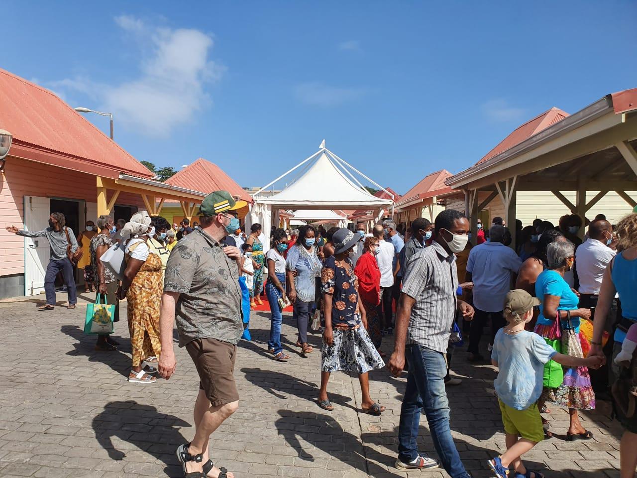 Le village artisanal de Capesterre-Belle-Eau a été inauguré