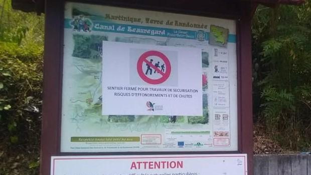 Danger : le canal de Beauregard est toujours interdit d'accès