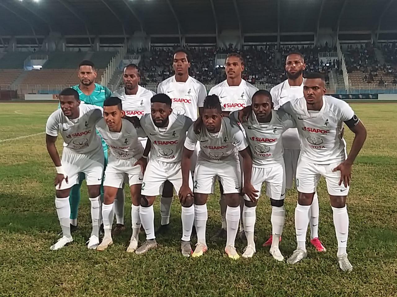Football : le Club franciscain remporte la Coupe de Martinique