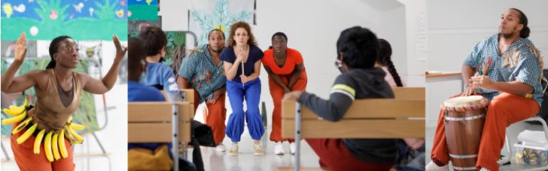 Apprendre l'histoire des Antilles au travers de la danse